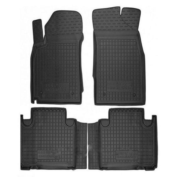 Коврики в салон для Geely Emgrand X7 2013- черный, кт - 4шт 11421 Avto-Gumm