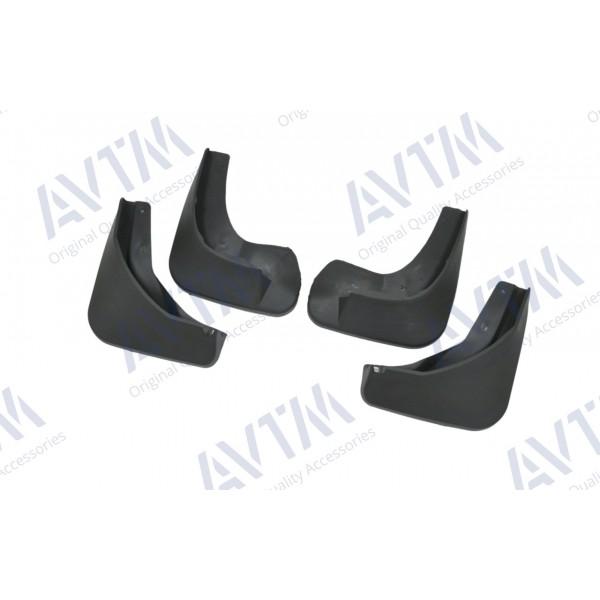 Брызговики Skoda Fabia 2014- (полный кт 4-шт) AVTM MF.SUFA2014