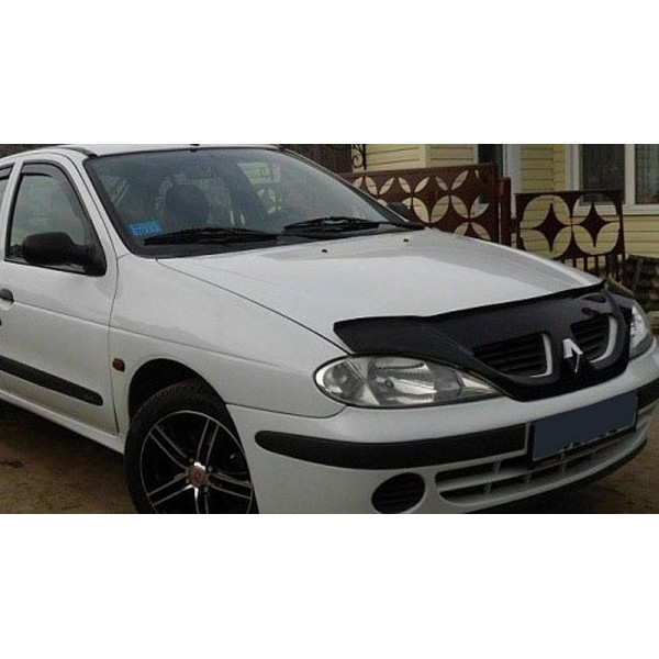 Дефлектор капота (мухобойка) Renault Megan I 1999-2002