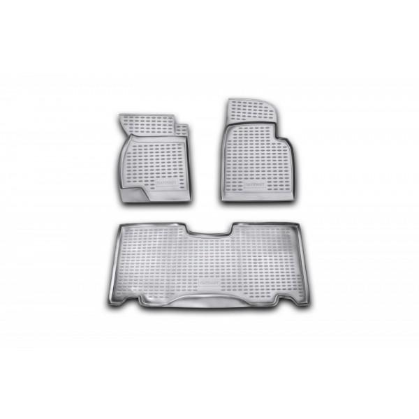 Коврики в салон для УАЗ Patriot, 3163-10/20, Classic/Comfort 2005->, 3 шт полиуретан NLC.54.04.210