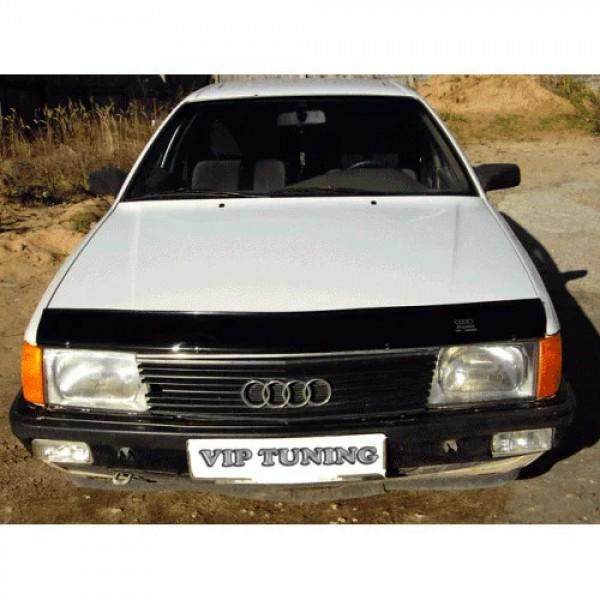 Мухобойка Audi 100 (C3) (1983-1991) (VT-52) Дефлектор капота накладка