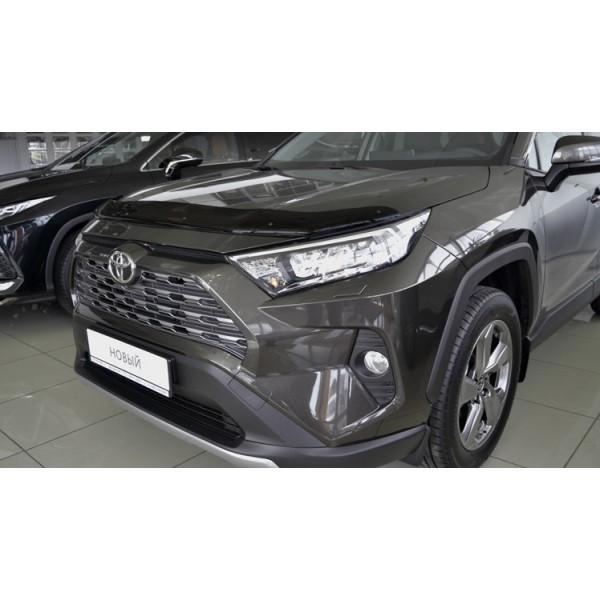 Дефлектор капота (мухобойка) Тойота RAV-4 2018-