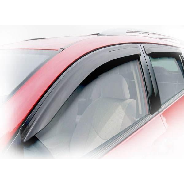 Дефлекторы окон (ветровики) Renault Kangoo 2008 -> 5D 5-ти дверный,полный кт - 4шт