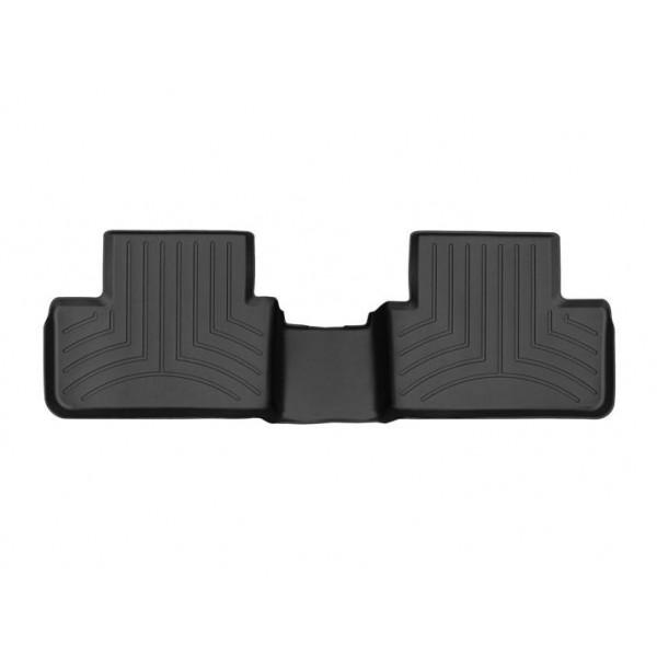 Задние коврики Renault Megane 2016-19 Wagon с бортиком, черные WeatherTech 449883
