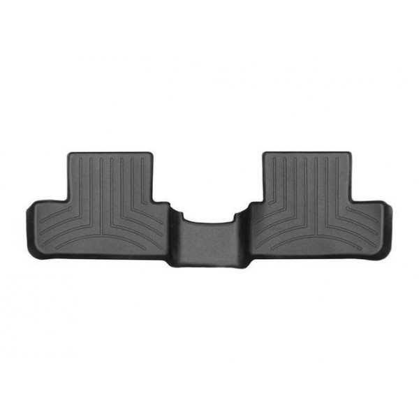 Задние коврики Renault Megane 2016- Htb с бортиком, черные WeatherTech 449882