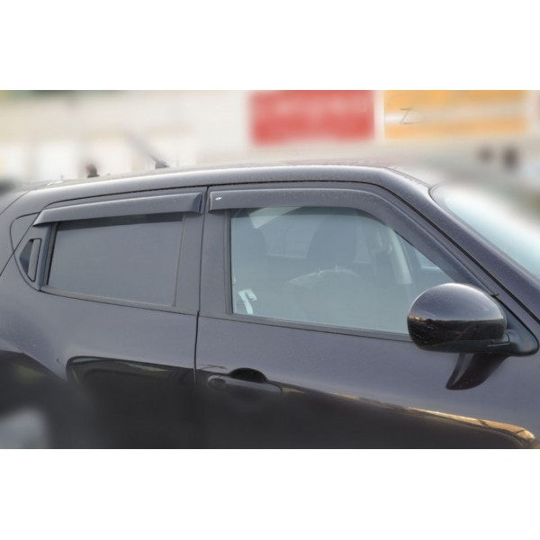Дефлектора окон (ветровики) Opel Astra G 3d 1998-2004 Cobra Tuning O14698