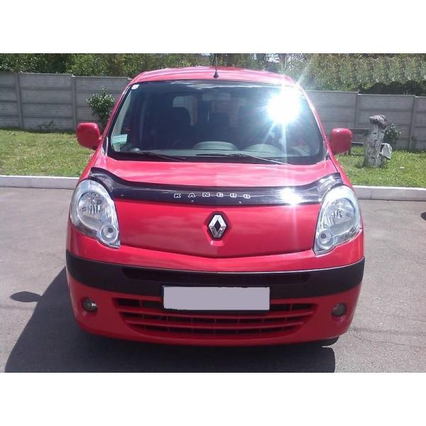 Дефлектор капота (мухобойка) Renault Kangoo 2008-2013
