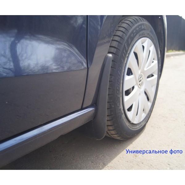 Брызговики задние для Renault Kangoo 2013- фур. комплект 2шт NLF.41.24.E18