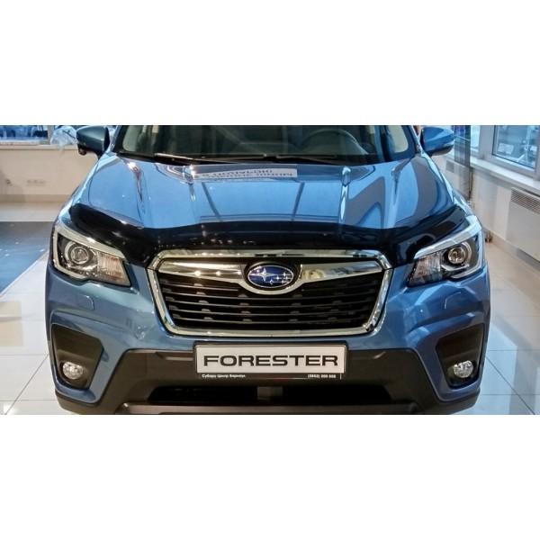 Дефлектор капота (мухобойка) Subaru Forester 2018-